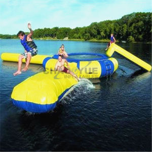 Commercial 0.9mm PVC Inflatable Water Game for Water Park pictures & photos