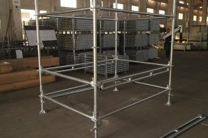 Double Ledger for Ringlock System Scaffolding pictures & photos