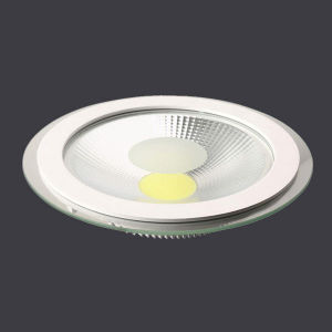 15W Aluminum Die Casting+PS Round Ceiling Flat LED Panel Light pictures & photos