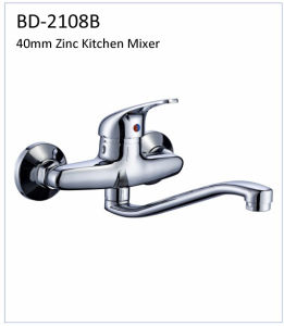 Bd2108b 40mm Zinc Single Lever Kitchen Faucet pictures & photos