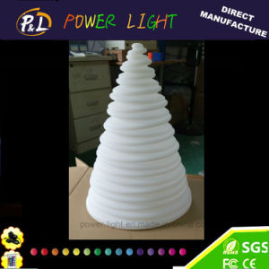 Colorful Rechargeable Decorative Pyramid LED Lamp pictures & photos