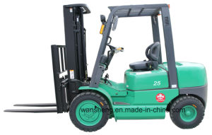 Hydraulic Pallet Lift Diesel Forklift 2.5t Trucks for Sale pictures & photos