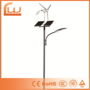 60W High Quality 8m Whole System Solar Wind LED Street Light pictures & photos