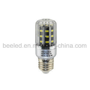 LED Corn Light E26 5W Cool White Silver Color Body LED Bulb Lamp
