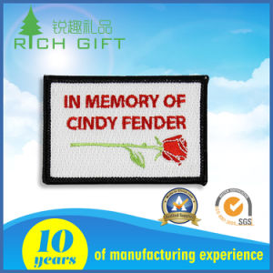 Customized Embroidery Fender with Flower for Wholesale pictures & photos