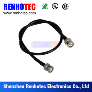 Double BNC Male Plug Connector for Rg179/Rg174/Rg316/Rg58/Rg59 pictures & photos