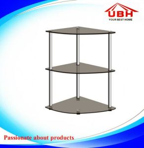 Glass Corner Stand for Flower Pot or Anything You Like/Table pictures & photos