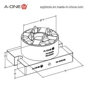 Pneumatic Chucks Manufacturer 50 Inox Erowa Pneumatic Chuck with Base Plate (3A-100036) pictures & photos