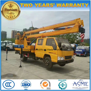 15 Meters Double Cab High Altitude Working Truck pictures & photos
