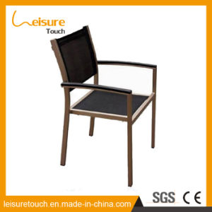 Aluminum Frame Textilene Fabric Beer Bar Furniture Metal Outdoor Restaurant Chair pictures & photos
