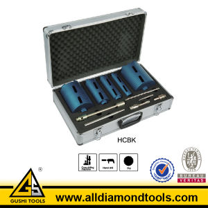 5 PCS Diamond Core Drill Bit Set pictures & photos