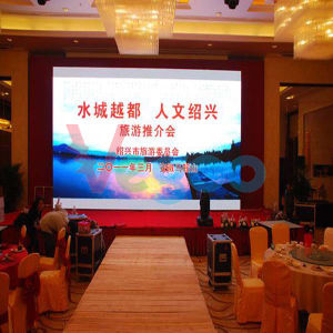 Full Color HD Indoor LED Display Screen 7.62mm pictures & photos