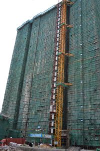 Stable Speed Building Construction Hoists pictures & photos