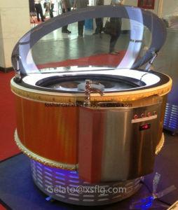 Italian Round Ice Cream Showcase Bo/ Hofex Hongkong pictures & photos