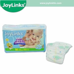 Perfect-Fit High Absorbent Baby Diaper with Magic Tape pictures & photos