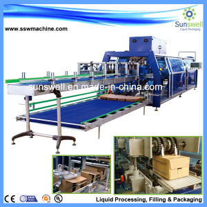 PE Film Shrink Packaging Machine for Juice Bottle pictures & photos