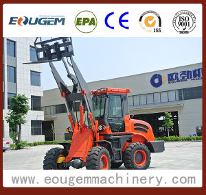 Eougem 4 Wheel Drive Tractor Front Loader (oj-16 1.6ton) pictures & photos