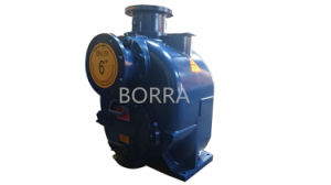 Sewage Self-Priming Centrifugal Water Pump pictures & photos