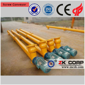 Hopper Screw Conveyor for Sale with ISO Approval pictures & photos