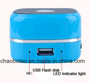 OEM Mini Novelty Wireless Bluetooth Speakers, High-End Wireless Speaker with Music Audio Speaker pictures & photos