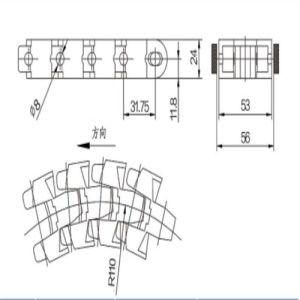 1705 Multiflex Cardanic Chain pictures & photos