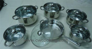 Kitchenware-12PCS Stainless Steel Cookware Set pictures & photos