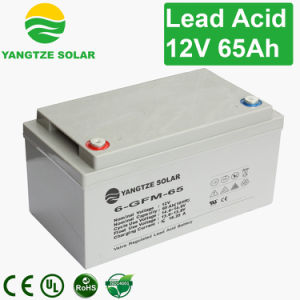 Rechargeable Sealed 65ah 12V Lead Acid Battery for Telecom/UPS/Solar System pictures & photos
