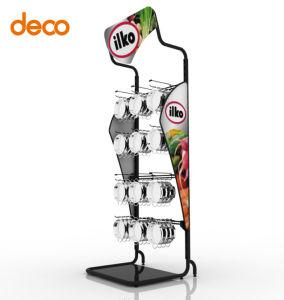 Supermarket Iron Display Rack Metal Display Shelf for Retail pictures & photos