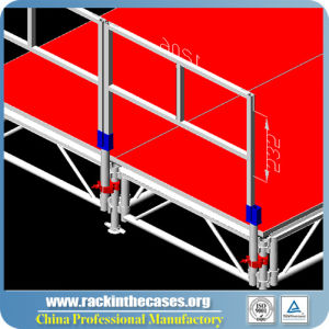 Rk Wholesale Aluminum Assembly Acrylic Stage pictures & photos