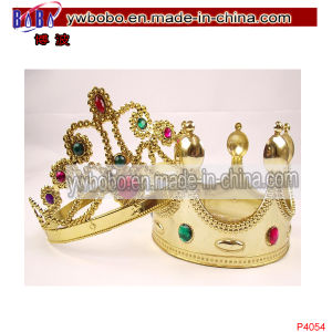Hair Jewelry Hair Accessories Princess Tiara Hair Decoration (P4054) pictures & photos