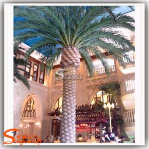 Hotel Decoration Fiberglass Artificial Date Palm Tree pictures & photos