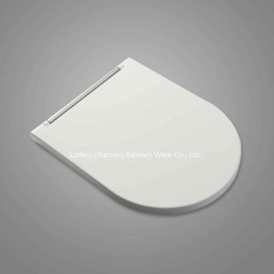 European Standard Ceramic White Toilet Seat Cover pictures & photos