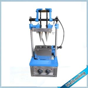 2 Cone Mold Ice Cream Waffle Cone Maker Machine for Making Ice Cream Cone pictures & photos