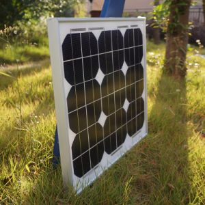 20W High Efficiency Mono Renewable Energy Saving Solar  Panel pictures & photos