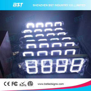 Outdoor White LED Gas Price Sign (Remote Controll/PC controll) pictures & photos