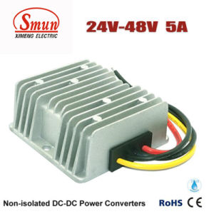 Waterproof DC-DC Power Converter 24V to 48V 5A 240W Converter pictures & photos