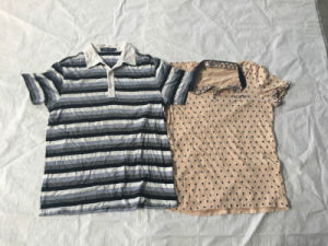 Recycling Baled Clothing Men Short Sleeve T-Shirt Second Hand Wholesale Clothes UK Style pictures & photos