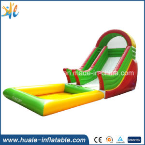 Inflatable Slide, Inflatable Blue & Yellow Slide, High Funny Slide for Kids