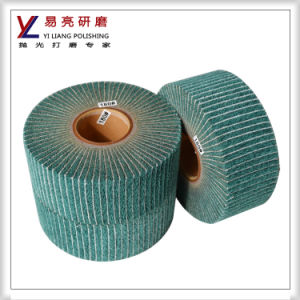 80 Grit Non Woven Interleaved Flap Wheel Manufacture