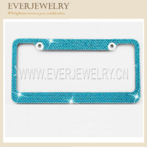 Bling Rhinestone Decoration for Car Lisence Plate Frame pictures & photos