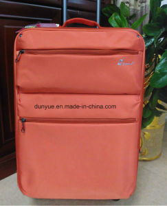 China Manufacturer Portable New Oxford Fabric Trolley Case Bag, OEM Casual Travel Luggage Suitcase with Wheels