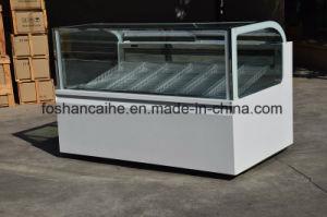 Canteen Equipment Gelato Ice Cream Showcase Cabinet pictures & photos