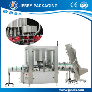 Full Automatic Rotary Plastic Cap Screwing Sealing Capping Machine pictures & photos