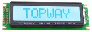 8X1 Character LCD Display COB Type LCD Module (LMB081NDC) pictures & photos