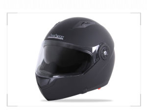 Full Face Motorcycle Helmet with Double Lens pictures & photos