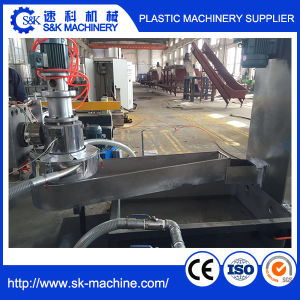 PE PP Waste Plastic Film Recycling Pelletizing Line pictures & photos