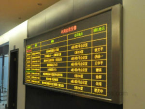Outdoor P10 Yellow Single Color LED Display /Screen/ Module pictures & photos