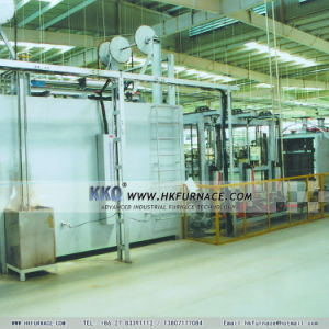 Glidewheel Aluminium Alloy Quenching Line pictures & photos