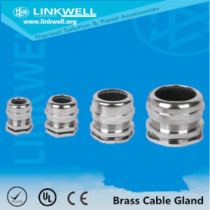 Factory Prices Pg/Metric/NPT Thread Metallic Nickeled Brass Cable Gland (NPT) pictures & photos