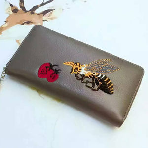 Bee Hand Workmanship Women Purse Ladies Real Leather Wallet Zipper Al308 pictures & photos